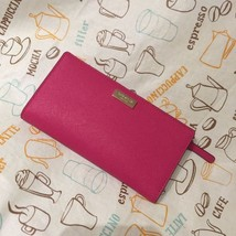 NEW Kate Spade Newbury Lane Stacy Clutch Wallet WLRU1601 Pink $118 - ₨4,505.97 INR