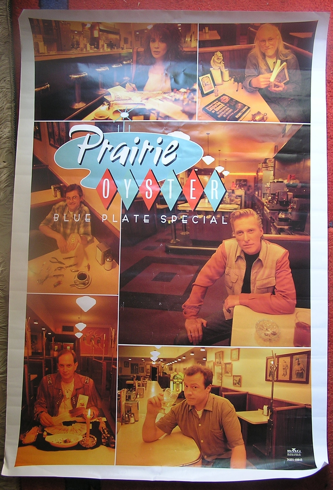 Prairie Oyster 1997 Rare Poster BMG Music and 21 similar items