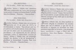 Novena a la Virgen de Fatima image 2