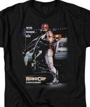 RoboCop Retro 80s action movie Peter Weller Cyborg graphic t-shirt MGM105 image 4