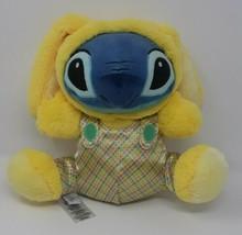 "Disney Store Stitch Plush 10"" Yellow Bunny Rabbit Doll Lilo and Stitch Easter - $14.75"