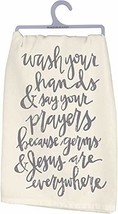 Primitives by Kathy Cotton Dish Towel - Wash Your Hands - $8.34