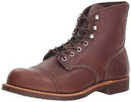 Red Wing Heritage Iron Ranger 6-Inch Boot, Amber Harness, 9 DM US - $443.36