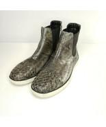 Bottega Veneta Intrecciato Chelsea Sneakers Size EU 45 Made In Italy Bro... - $304.88