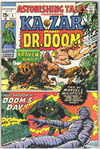 Astonishing Tales Comic Book #1, Marvel Comics 1970 VERY FINE - $36.68