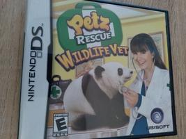 Nintendo DS Petz Rescue Wildlife Vet image 1