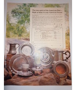 Vintage The Trading Post American Antiques Print Magazine Advertisement ... - $4.99