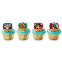 DecoPac Jake and The Never Land Pirates Never Land Gang Cupcake Rings (12 Count) - $3.99