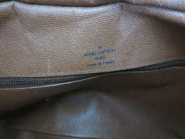 Authentic LOUIS VUITTON Monogram Canvas Leather Boulogne 35 Shoulder Bag image 9