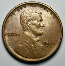 1911S Lincoln Cent Coin Lot A646