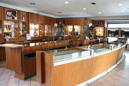 Halskette Weißgold 18k,3 Anhänger, Perlen Fischen, Tonde und Oval, Kette Rolo image 4