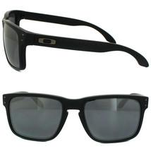 New Oakley Sport Holbrook Matte Black w/Black Iridium  OO9102-63 - $127.35