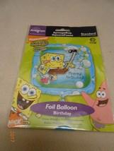 NEW ANAGRAM HELIUM QUALITY FOIL BALLOON : spongebob squarepants Stocking... - $3.95