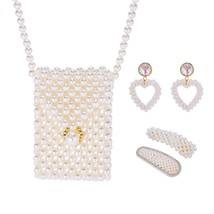 Women's Jewelry Set Imitation Pearl Accessories - $35.99