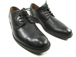 Clarks Waterproof Mens Black Leather Lace Up Oxfords Size US 9.5 EU 42.5 - $29.09