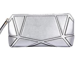 Fashion PU Evening Clutch Handbags SILVER