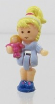 1993 Vintage Lot Polly Pocket Doll Figure Toy Shop - Polly Bluebird Toys - $7.50