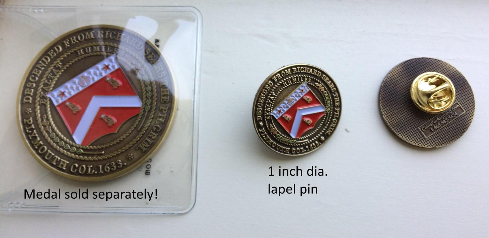 Sears Coat of Arms lapel pin
