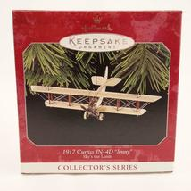 Vintage 1998 Hallmark Keepsake Ornament 1917 Curtiss JN-4D Jenny Skys the Limit image 5