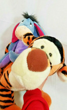 "12"" Plush LOT EEYORE Disney Store Exclusive Toy + Large Tigger 19"" Sitting - $46.54"