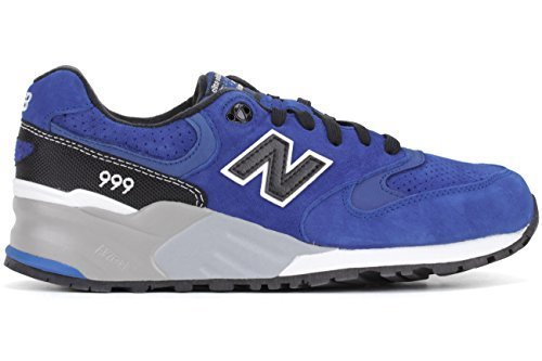 New Balance Men's 999 Elite Edition Classics Blue/Black/Grey Running Shoe 8.5 Me