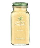 Simply Organic Ground Mustard Seed Seasoning, 3.07oz kosher non GMO, powder - $11.49