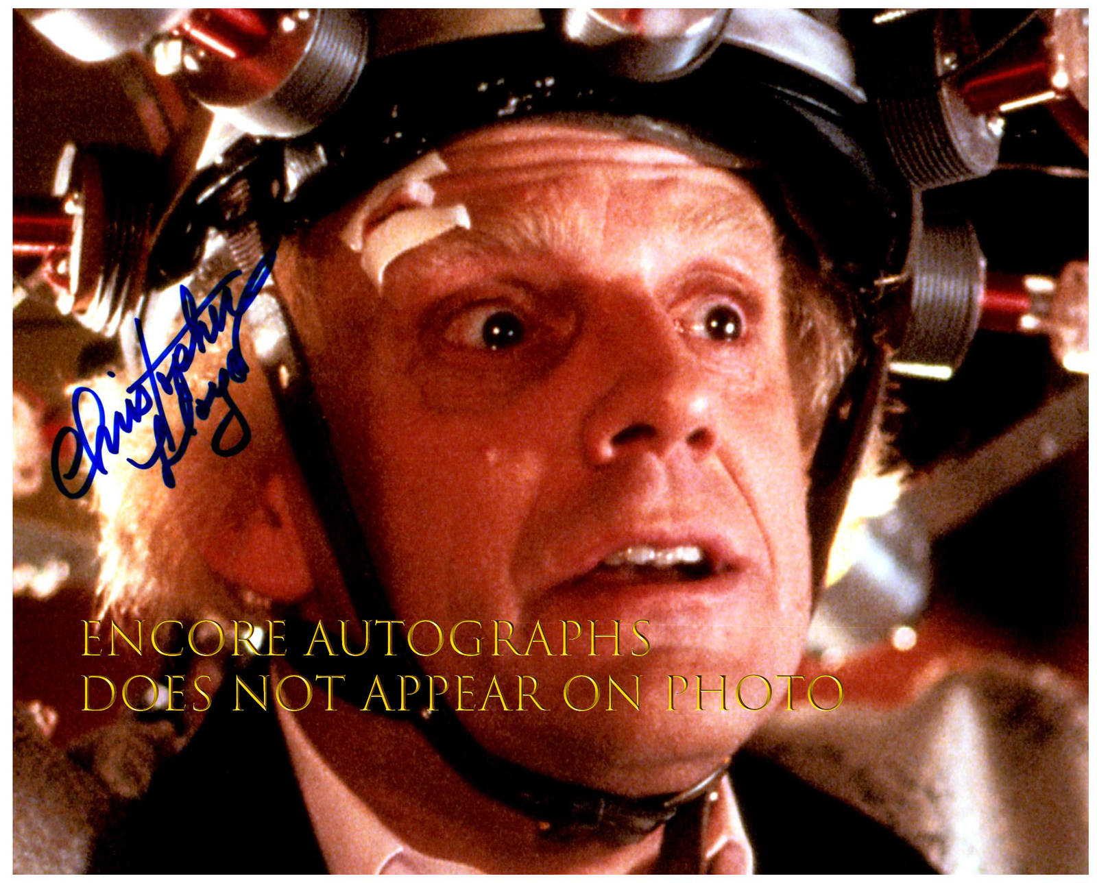 Primary image for CHRISTOPHER LLOYD  Authentic Original  SIGNED AUTOGRAPHED 8X10 w/ COA 2295