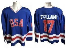 Team USA 1980 Sewn Hockey Jersey Jack O'Callahan #17 Reebok 48 - $35.99