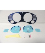 95-99 Mitsubishi Eclipse Turbo Aluminum Bezel Manual Trans W Glow Throug... - $30.69
