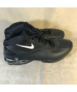 Nike 306869-001 Shox Status Black Basketball Sneakers Men's Size 16.5 - $59.39
