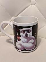 Coca-Cola 1996 Polar Bear Winter Coffee Mug Gibson - $9.99