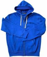 Polo Ralph Lauren Classic Full-Zip Fleece Hooded Sweatshirt Blue S M L X... - $98.95