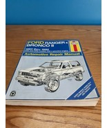 Haynes Automotive Repair Manual Book 1026 1983-1992 Ford Ranger Bronco II  - $8.90
