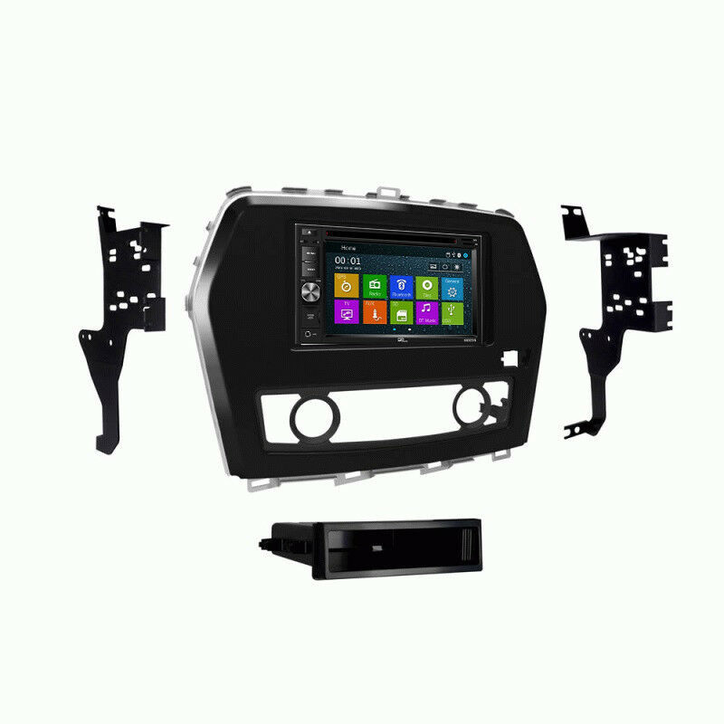 DVD GPS Navigation Multimedia Radio and Dash Kit for Nissan Maxima 2016