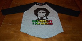 VINTAGE 70's STYLE BOB MARLEY & THE WAILERS Long Sleeve T-Shirt SMALL NEW - $19.80