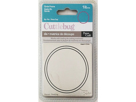 Provo Craft Cuttlebug Circle Frame Die #37-1224