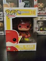 Funko Pop! DC Universe The Flash #10 Yellow Box Vaulted Rare WITH PROTEC... - $44.04