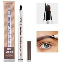 Eyebrow Tattoo Pen - iMethod Microblading Eyebrow Pencil with a Micro-Fo... - $11.62