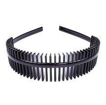 Fashion Headbands Unisex Headdress Wave Headband Travel Hair Hoop-C5 - $9.90