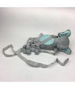 Carters Child of Mine Safety Harness 2 in 1 Leash Strap Gray Elephant w ... - $14.01