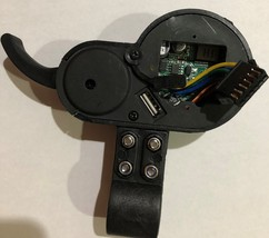 Electric Scooter LCD Display Meter Speedometer Controller with Throttle Lever image 6