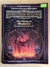 H4 The Throne Of Bloodstone Dungeons Dragons D&D Forgotten Realms Tsr 9228 - $49.01