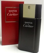 SANTOS de CARTIER Cologne for Men 3.3 oz Spray edt NEW in BOX Priority Mail - $35.99