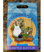 Disney Epcot Robin Hood Food & and Wine Festival 2021 Pin LE Limited Edi... - $24.74