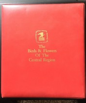 USPS Birds Flowers Stamps Central Region 1982 First Day Covers Album Pau... - $49.40
