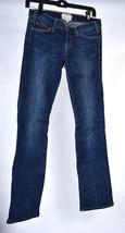 Current Elliott Jeans Straight Leg Compass Blue Stretch Denim 26 Womens USA - $19.80