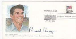 Ronald Reagan Inauguration Day Tampico Il January 21 1985 Fleetwood - $2.98