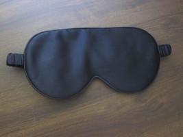 Black Pure Silk Sleep Mask Anti-aging Restful Night's Eye Mask Soft Luxury - €30,53 EUR