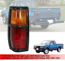 Black Trim 1 Left Tail Light Lamp For Nissan Datsun 720 4WD 1982 1983 1984 - $56.03