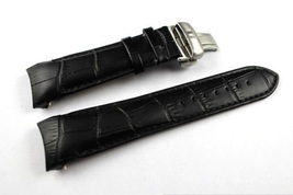 23mm Black Leather Watch Strap Band With Clasp/Buckle for Tissot T035439 T035617 - $39.99